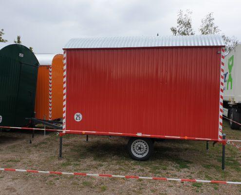 Bauwagen RAL3013 tomatenrot