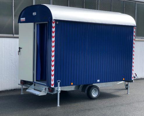 Bauwagen RAL5003 saphirblau