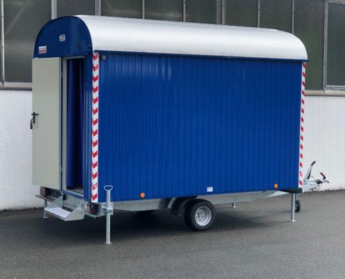 Bauwagen RAL5010 enzianblau